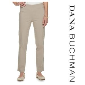 Dana Buchman straight midrise pants. Plus size 14